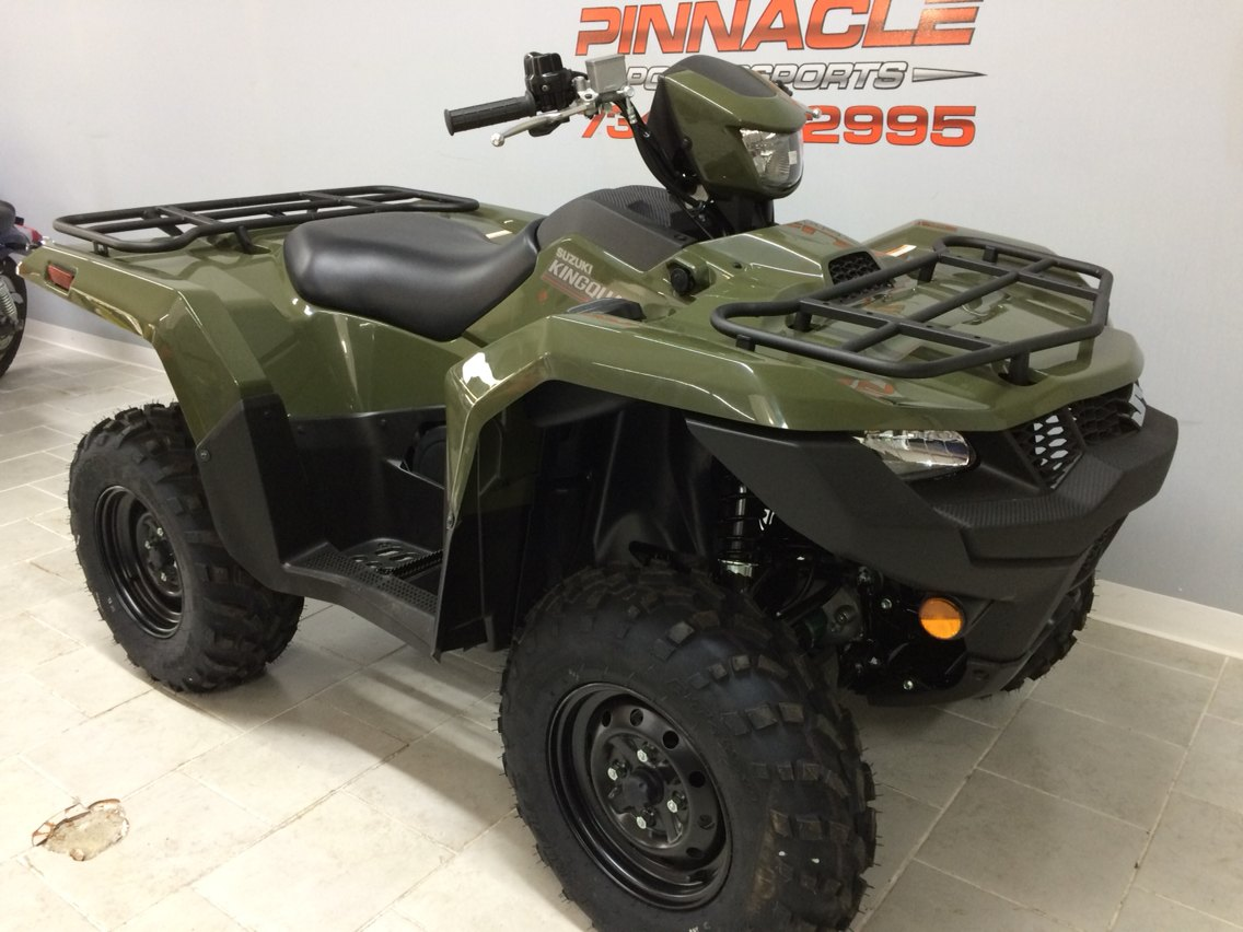 2019 Suzuki KingQuad 750AXi in Belleville, Michigan - Photo 1