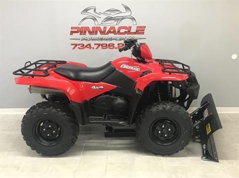 2017 Suzuki KingQuad 500AXi Power Steering in Belleville, Michigan