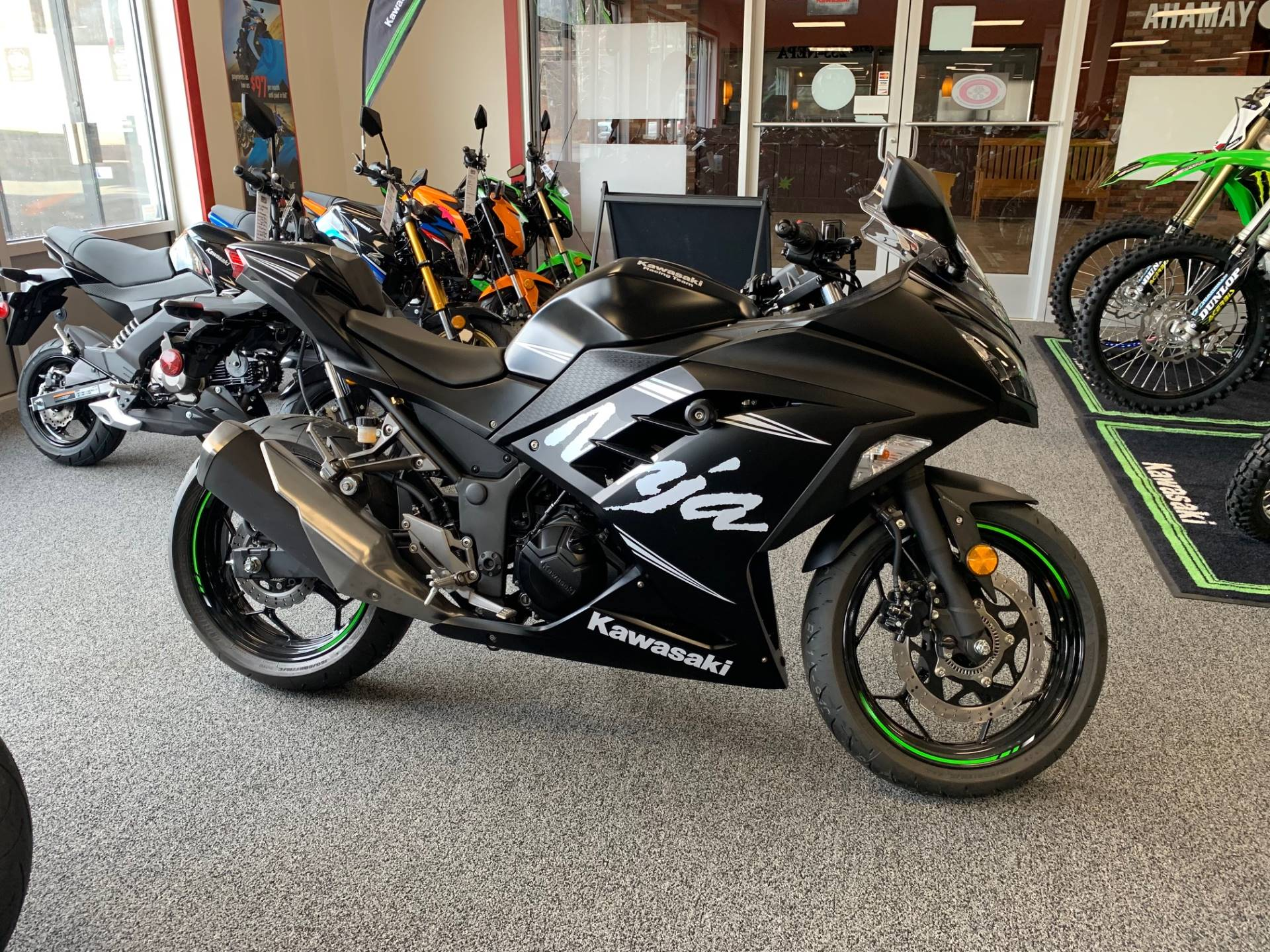 2017 Kawasaki Ninja 300 ABS Winter Test Edition in Honesdale, Pennsylvania