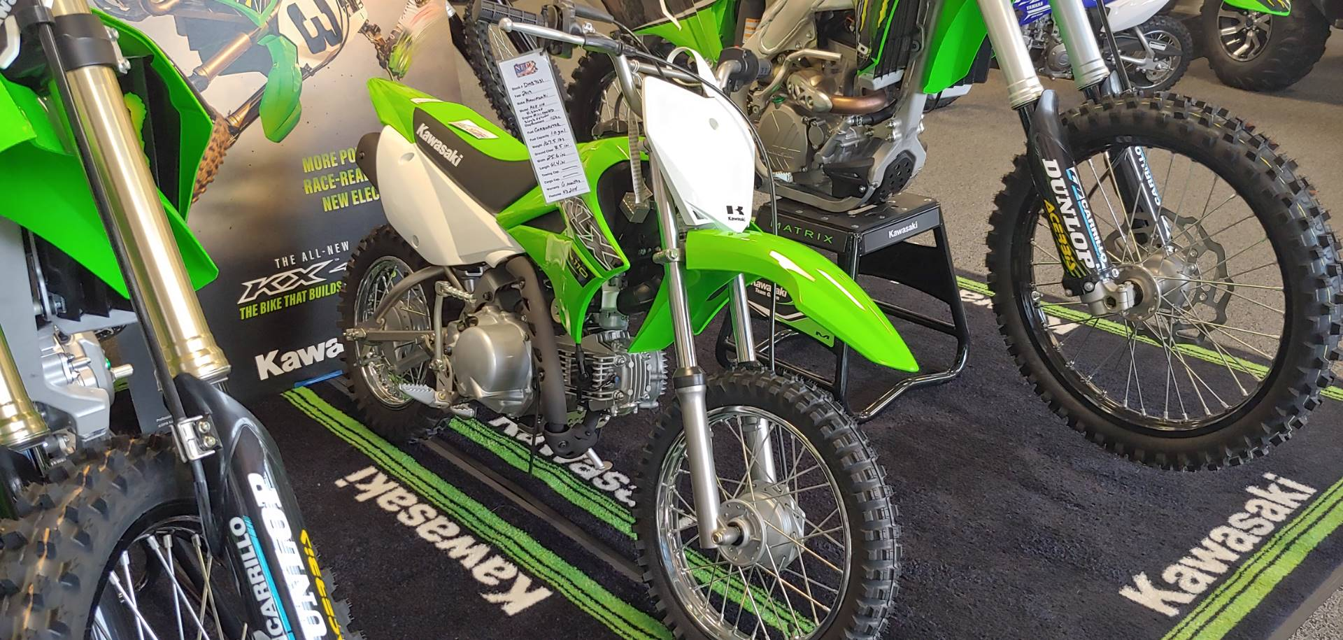 2019 Kawasaki KLX 110 in Honesdale, Pennsylvania