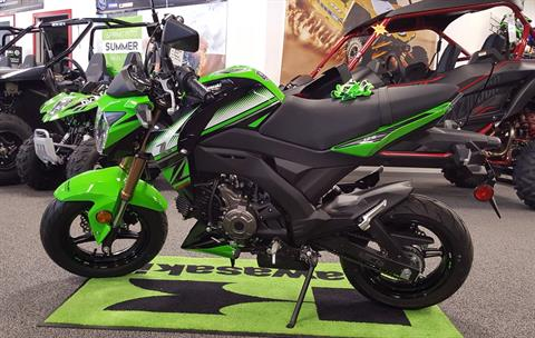 2018 Kawasaki Z125 Pro KRT Edition in Honesdale, Pennsylvania - Photo 1