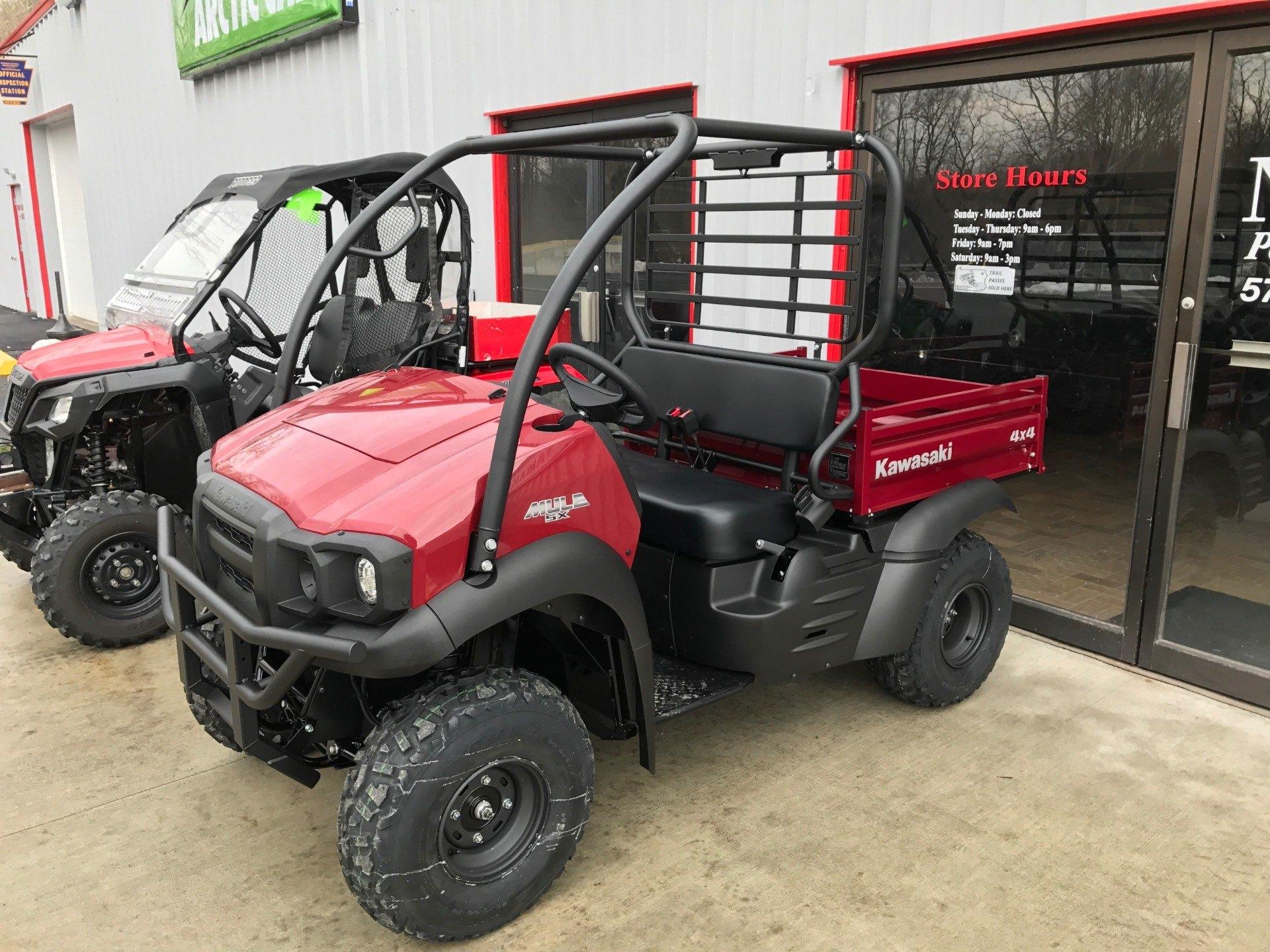 2017 Kawasaki MULE for sale 2603