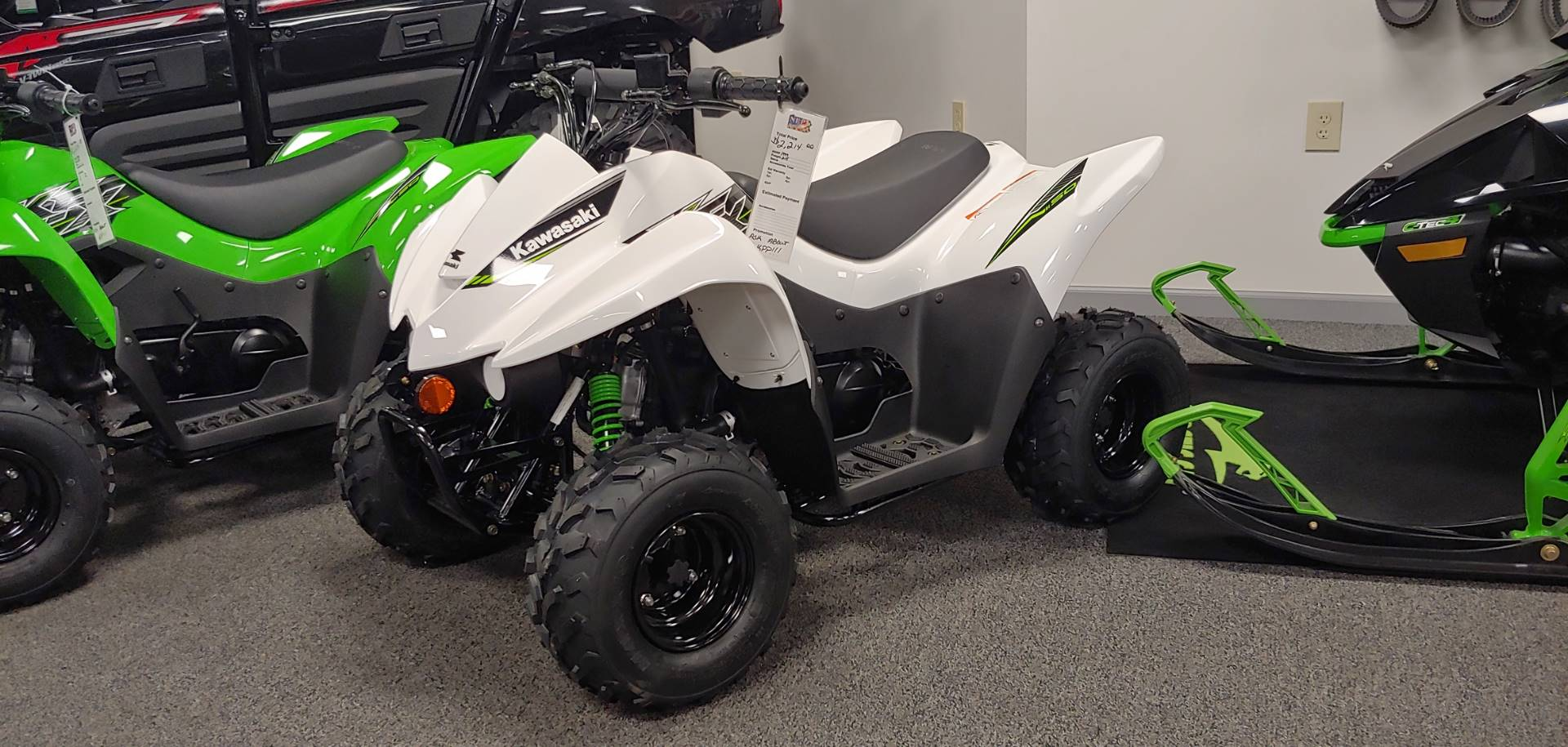 2019 Kawasaki KFX 50 for sale 2024