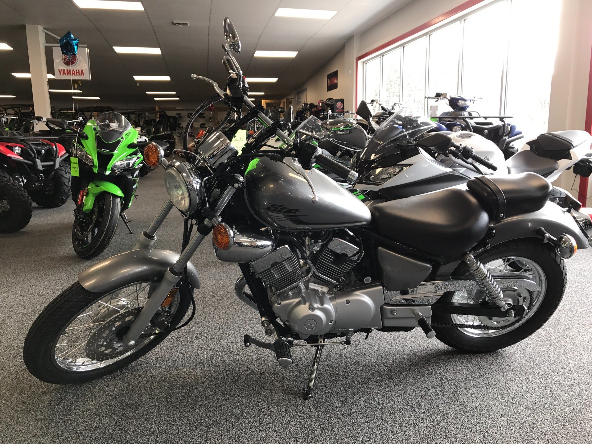 2017 Yamaha V Star 250 for sale 13009
