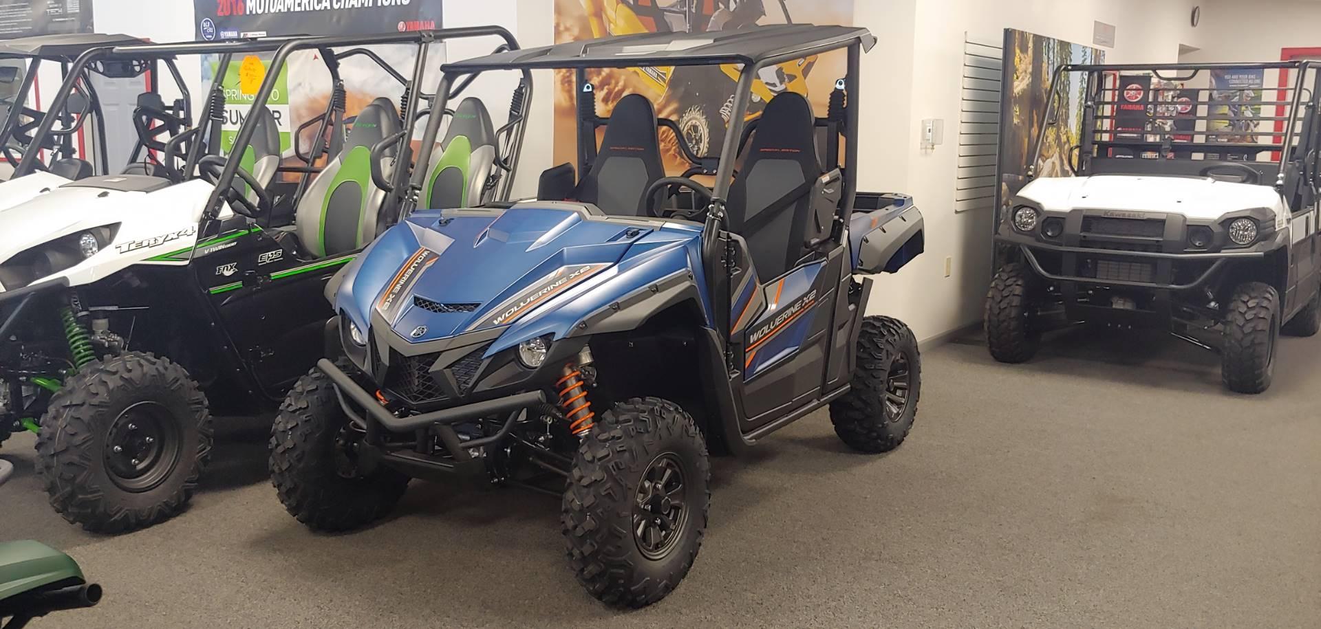 2019 Yamaha Wolverine X2 R-Spec SE for sale 1796