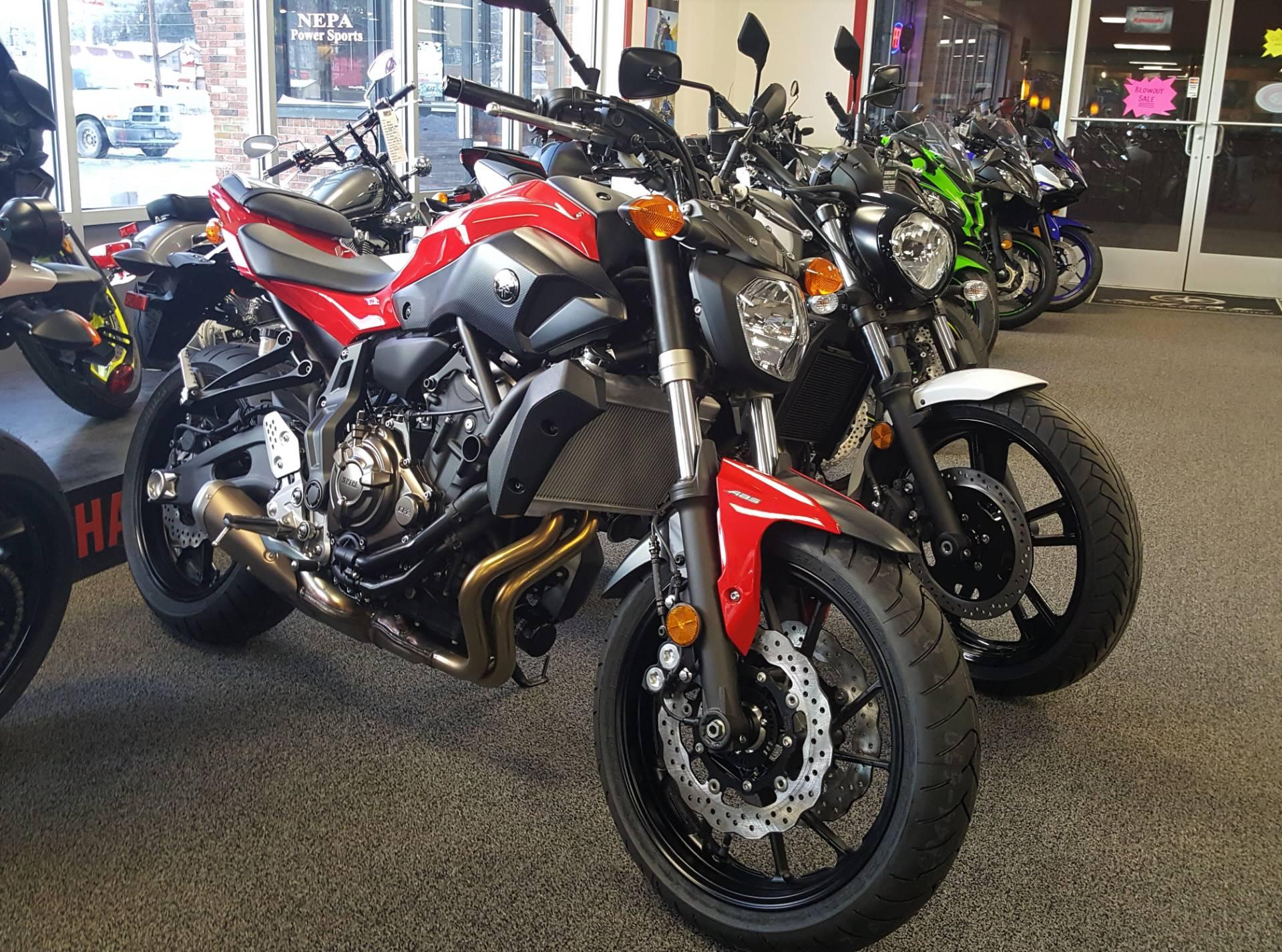 2017 Yamaha FZ-07 ABS for sale 908
