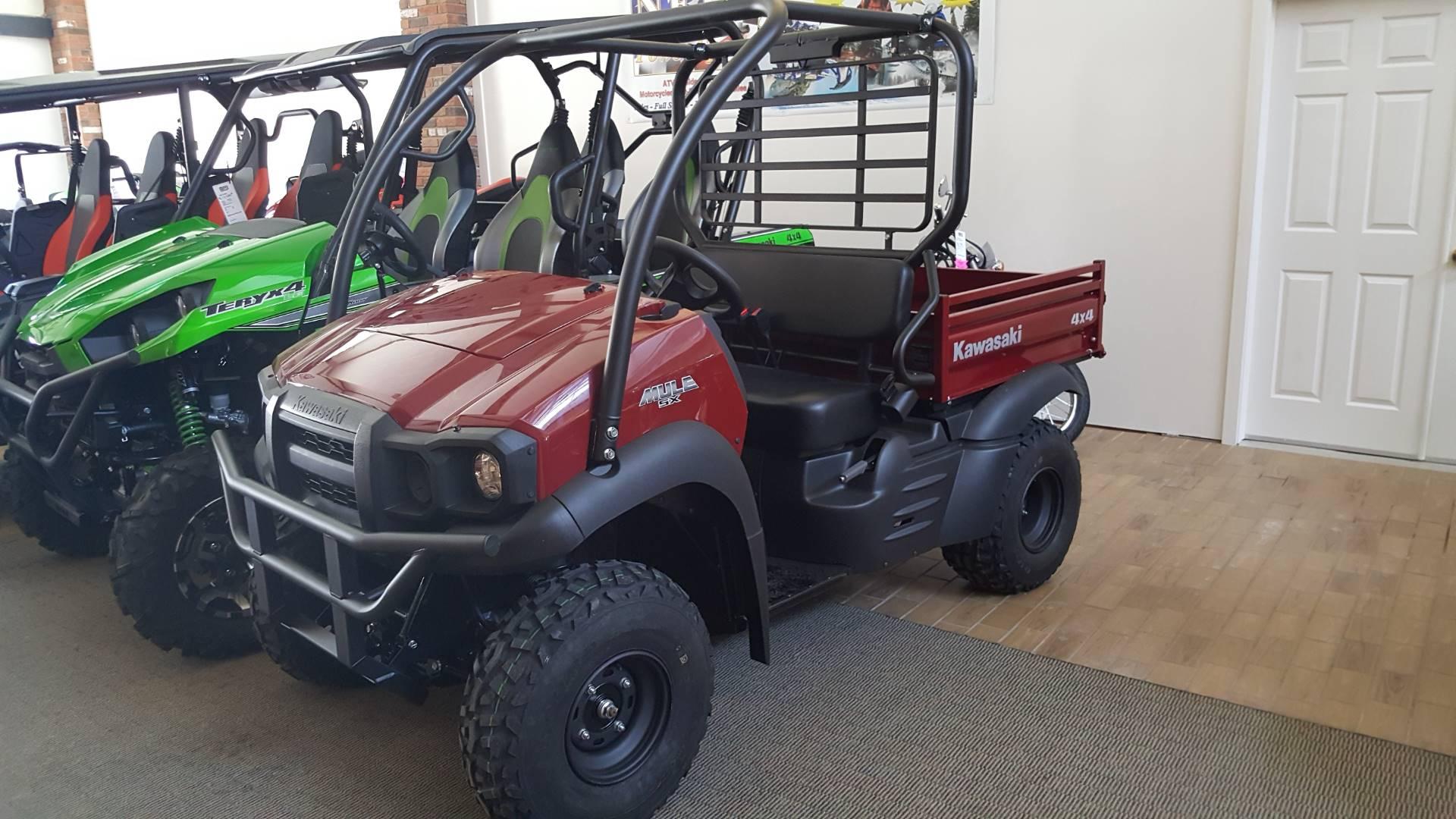 2018 Kawasaki Mule SX 4X4 for sale 41