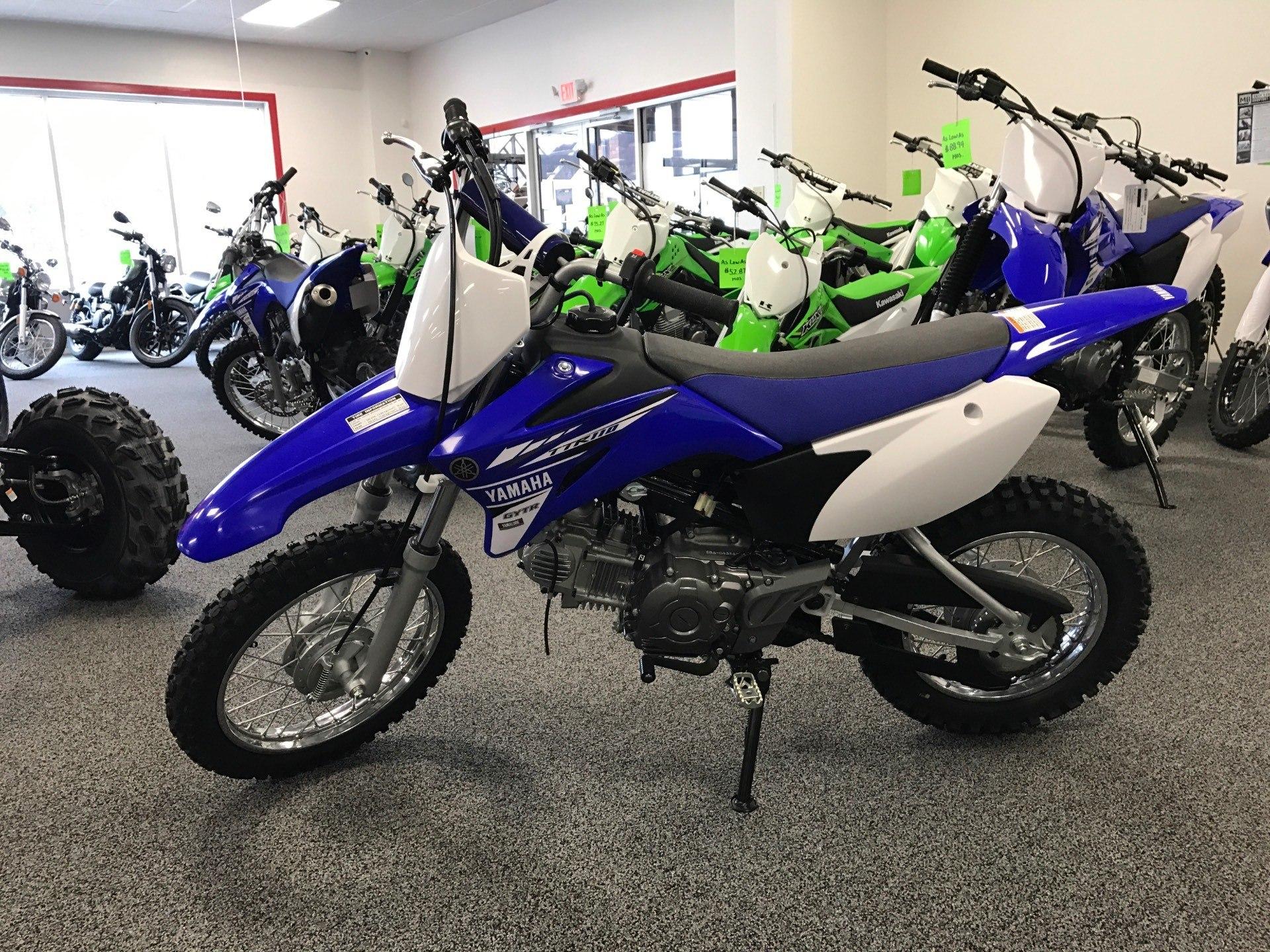 2017 Yamaha TT-R110E 1