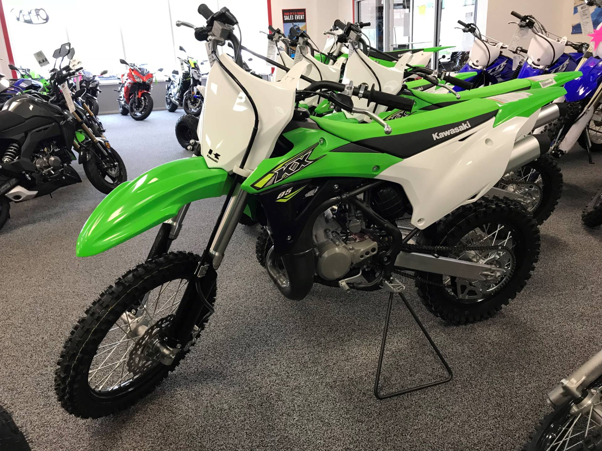 2018 Kawasaki KX 85 in Honesdale, Pennsylvania - Photo 1