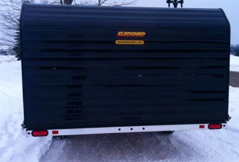 "2014 Karavan Trailers 12"" Atomic Sled Shed in Dimondale, Michigan"