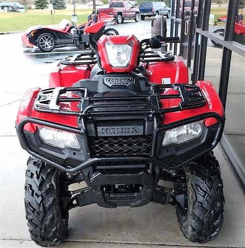2015 Honda FourTrax® Foreman® Rubicon® 4x4 DCT in Dimondale, Michigan