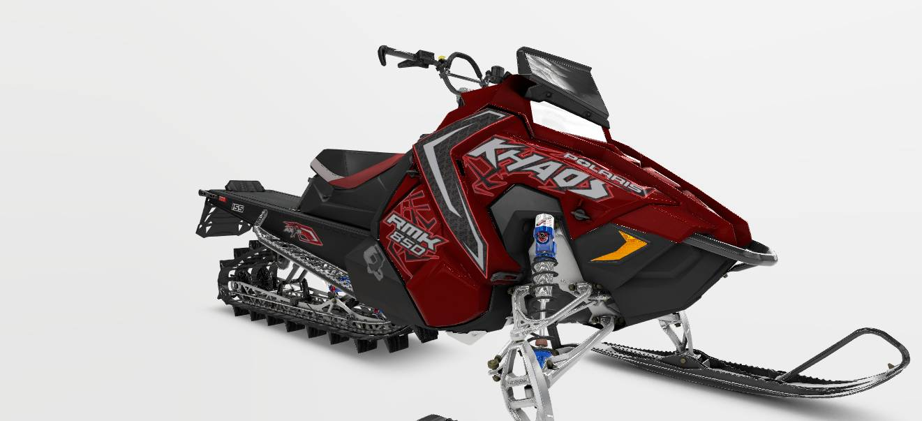 "2021 Polaris 850 RMK Khaos 155 2.6"" in Dimondale, Michigan - Photo 1"