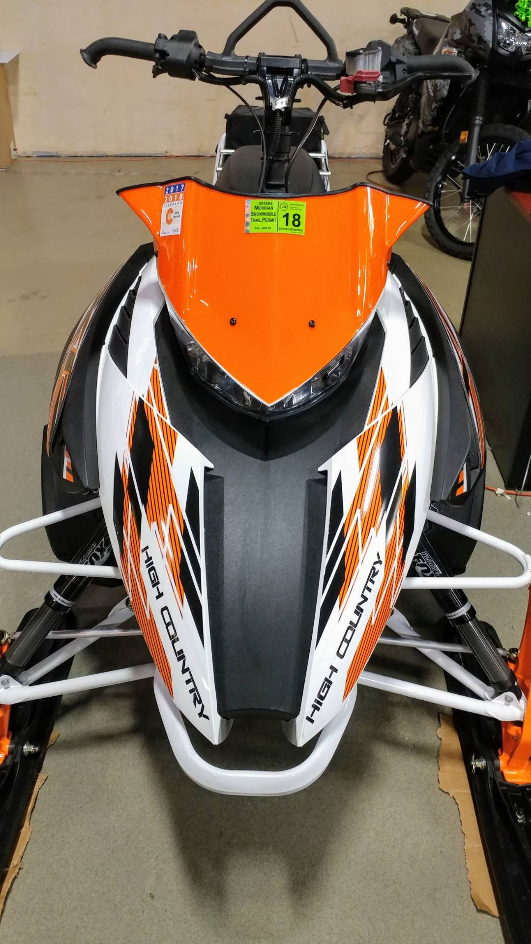 2015 Arctic Cat XF 6000 High Country™ Sno Pro ES in Dimondale, Michigan