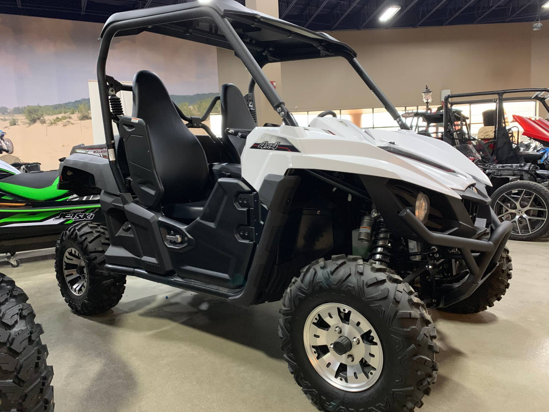 2018 Yamaha Wolverine R-Spec EPS in Dimondale, Michigan - Photo 2