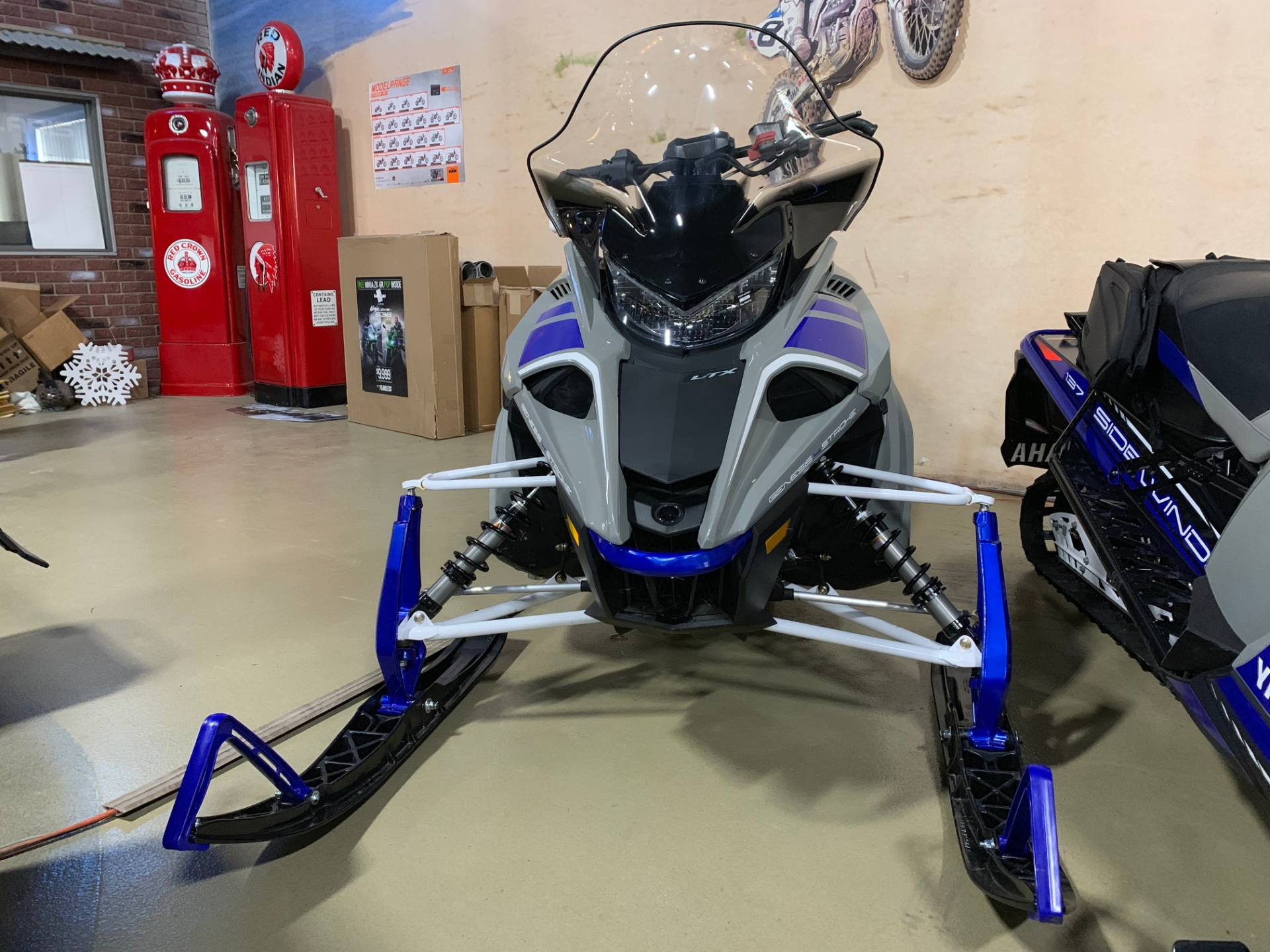2018 Yamaha Sidewinder L-TX DX in Dimondale, Michigan