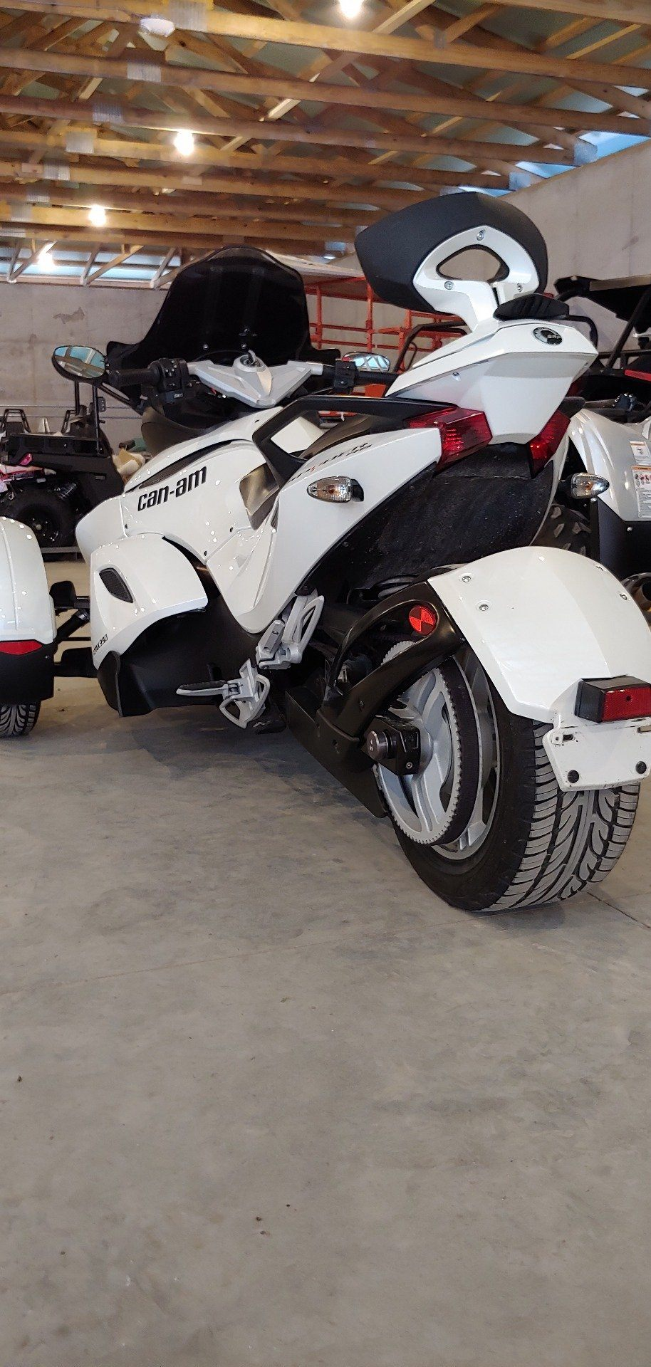2011 Can-Am Spyder RS SES in Dimondale, Michigan - Photo 2
