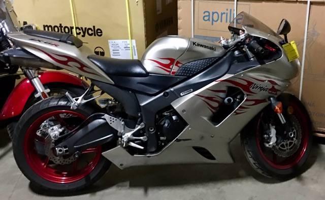 2006 Kawasaki Ninja® ZX-6R in Dimondale, Michigan