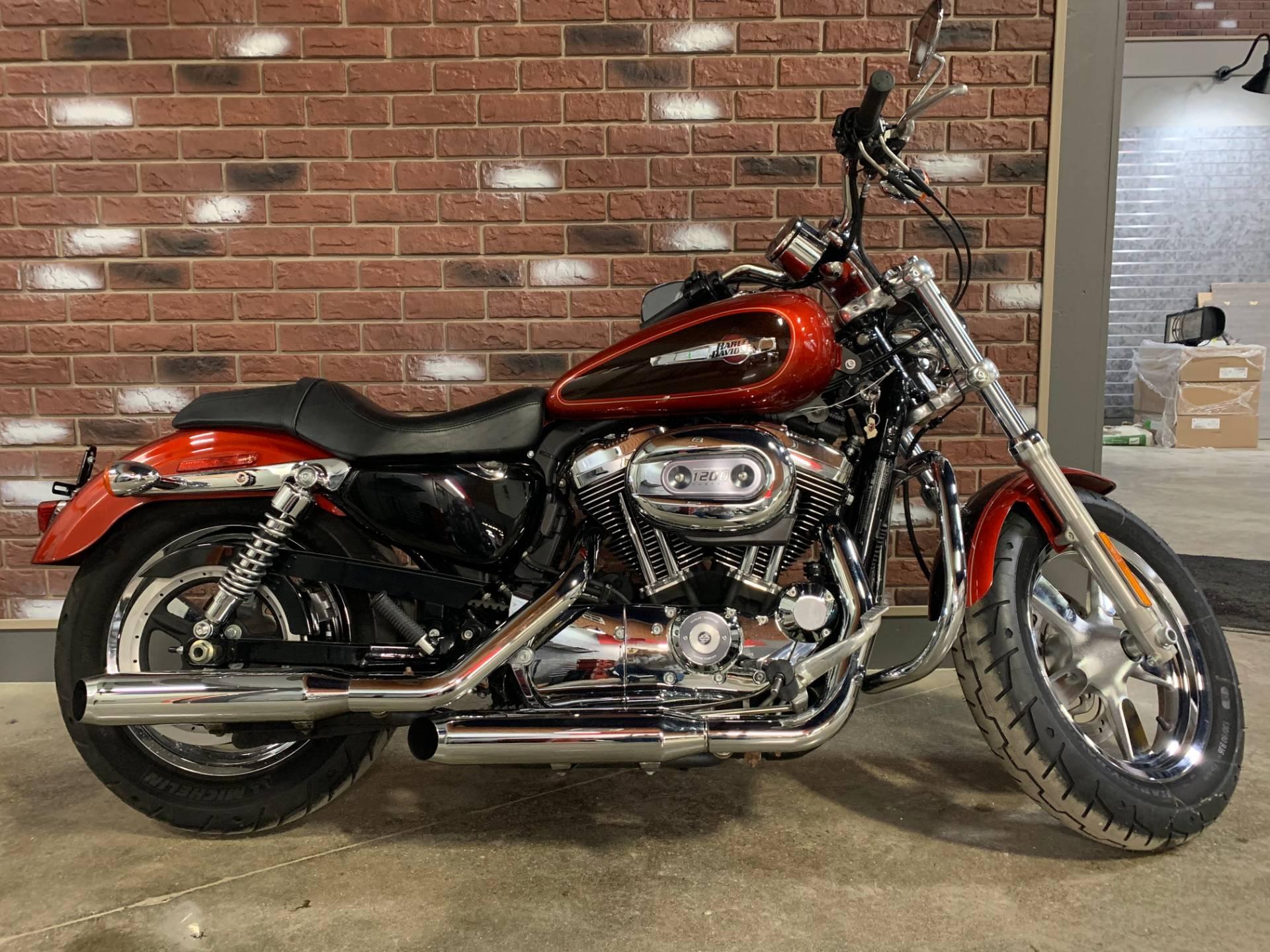 2013 Harley-Davidson Sportster 1200 Custom for sale 3738