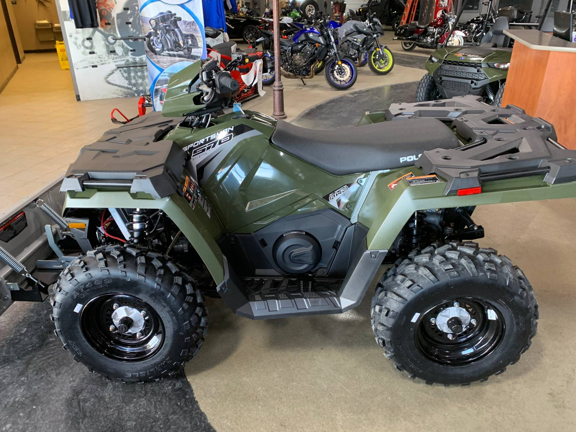 2018 Polaris Sportsman 570 in Dimondale, Michigan - Photo 2