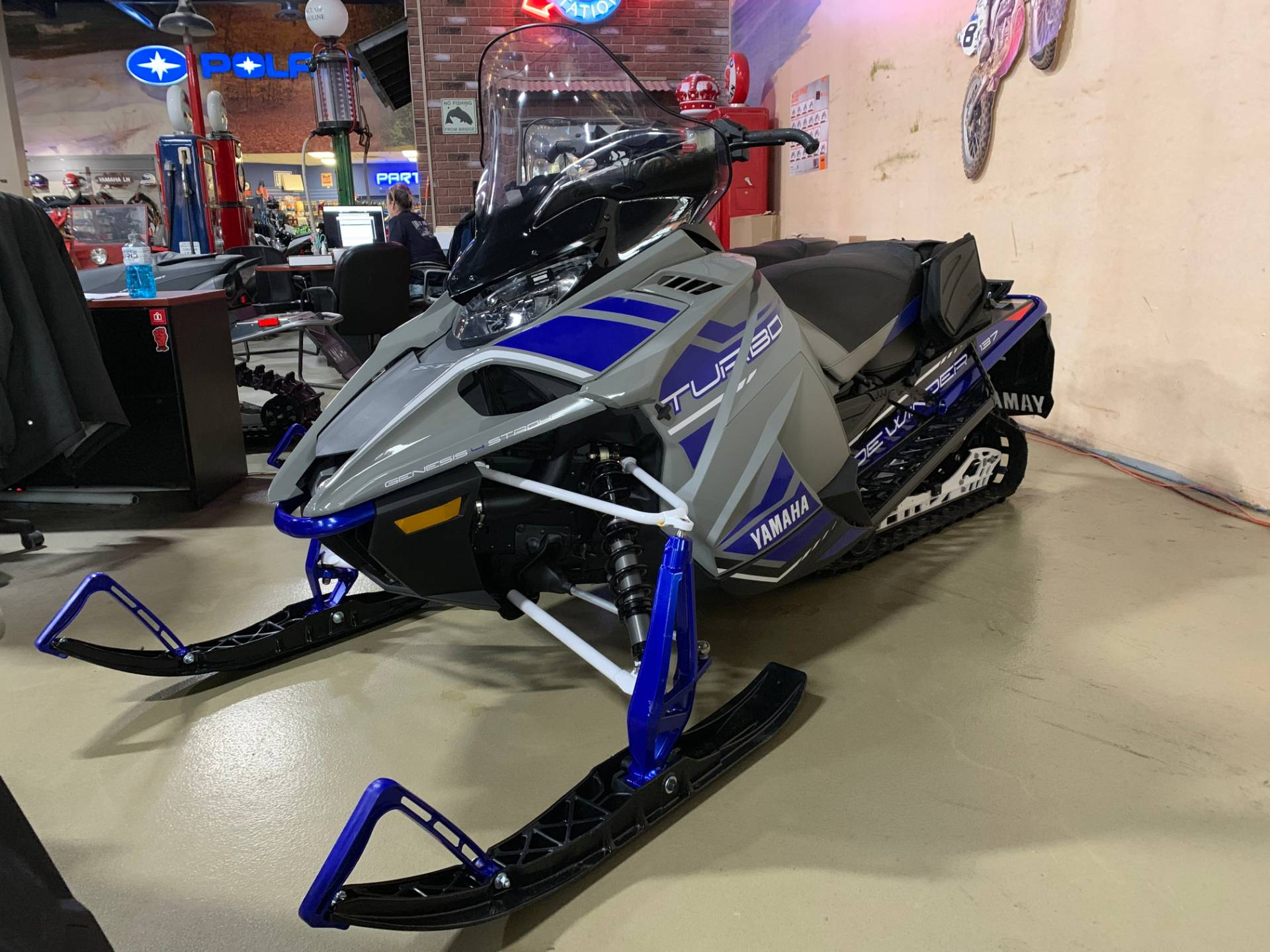 2018 Yamaha Sidewinder S-TX DX 137 in Dimondale, Michigan