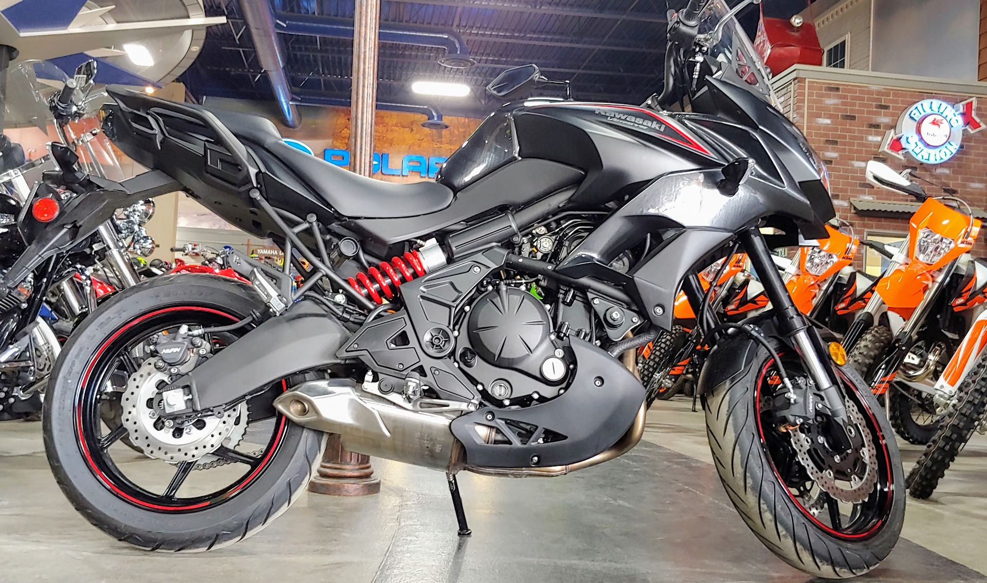 2018 Kawasaki Versys 650 ABS in Dimondale, Michigan