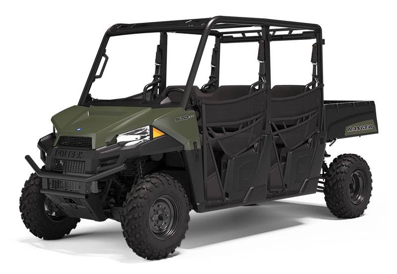 2021 Polaris Ranger Crew 570 in Dimondale, Michigan - Photo 1