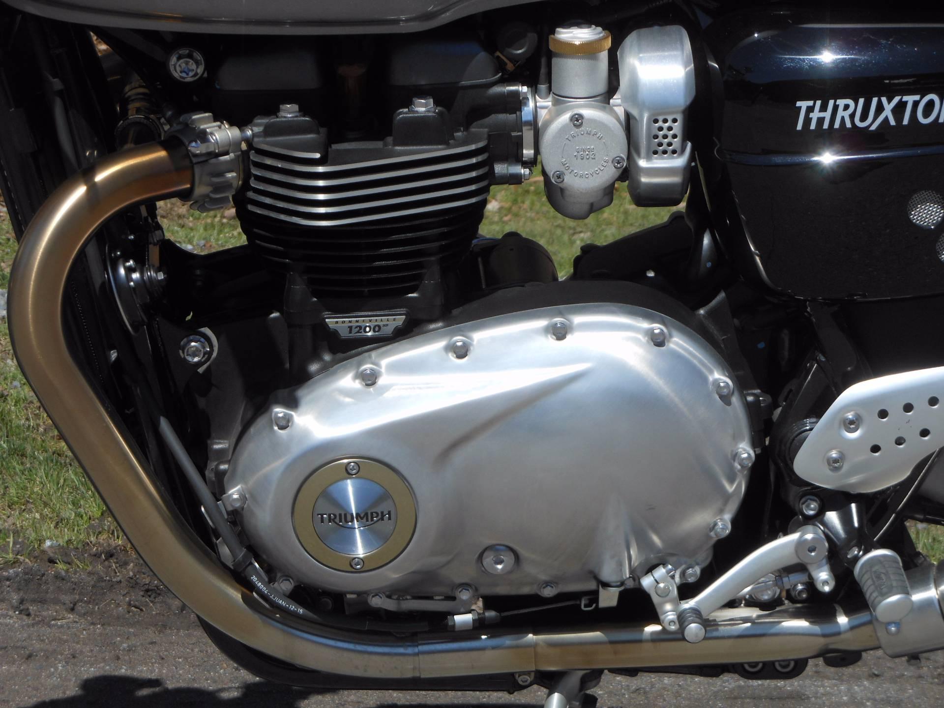 2016 Triumph Thruxton 1200 R in Port Clinton, Pennsylvania