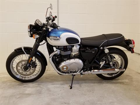 2017 Triumph Bonneville T100 in Port Clinton, Pennsylvania