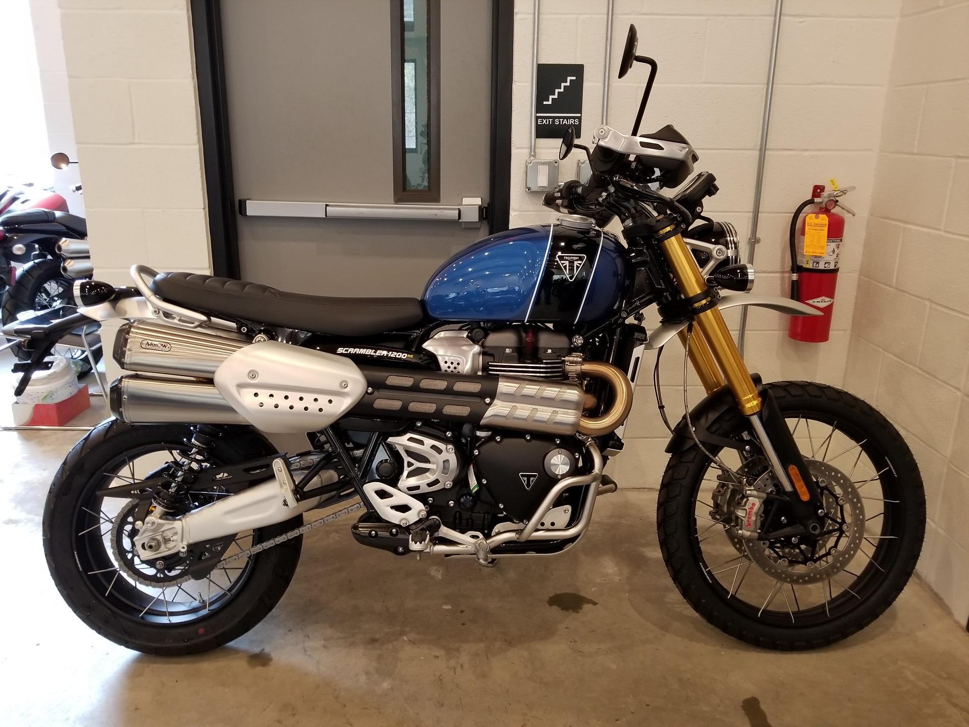 2019 Triumph Scrambler 1200 Xe Motorcycles Port Clinton Pennsylvania