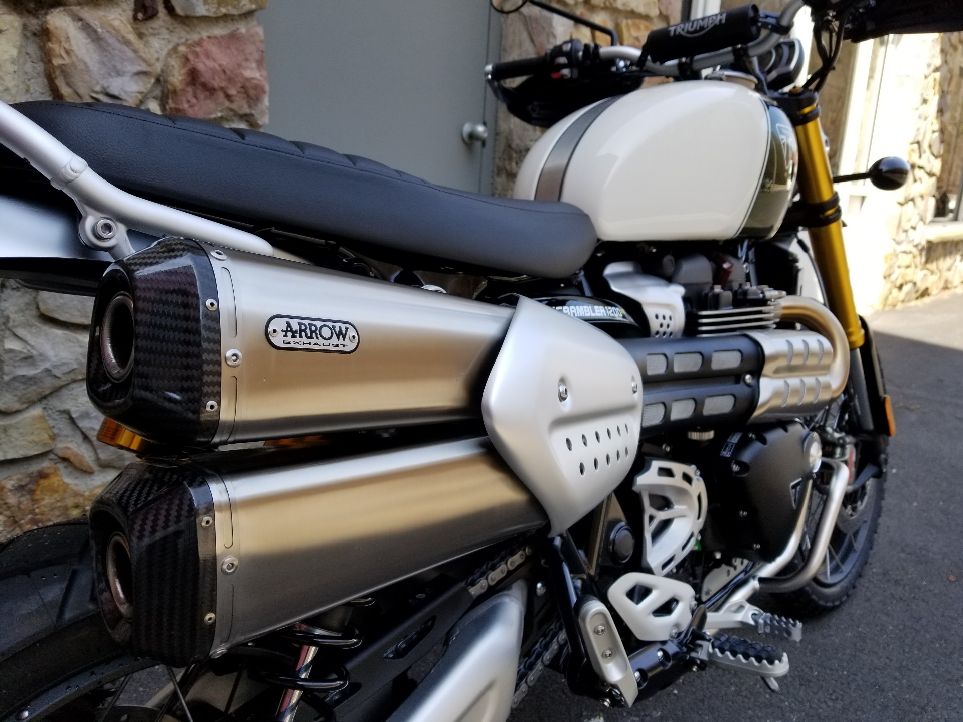 2019 Triumph Scrambler 1200 XE in Port Clinton, Pennsylvania