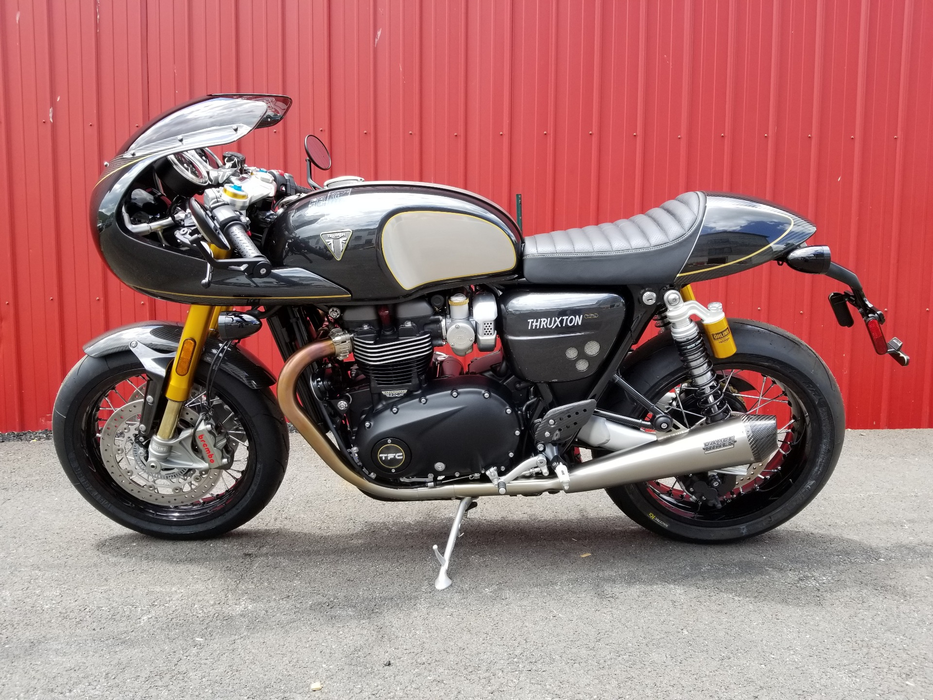 2020 Triumph Thruxton 1200 TFC in Port Clinton, Pennsylvania - Photo 2