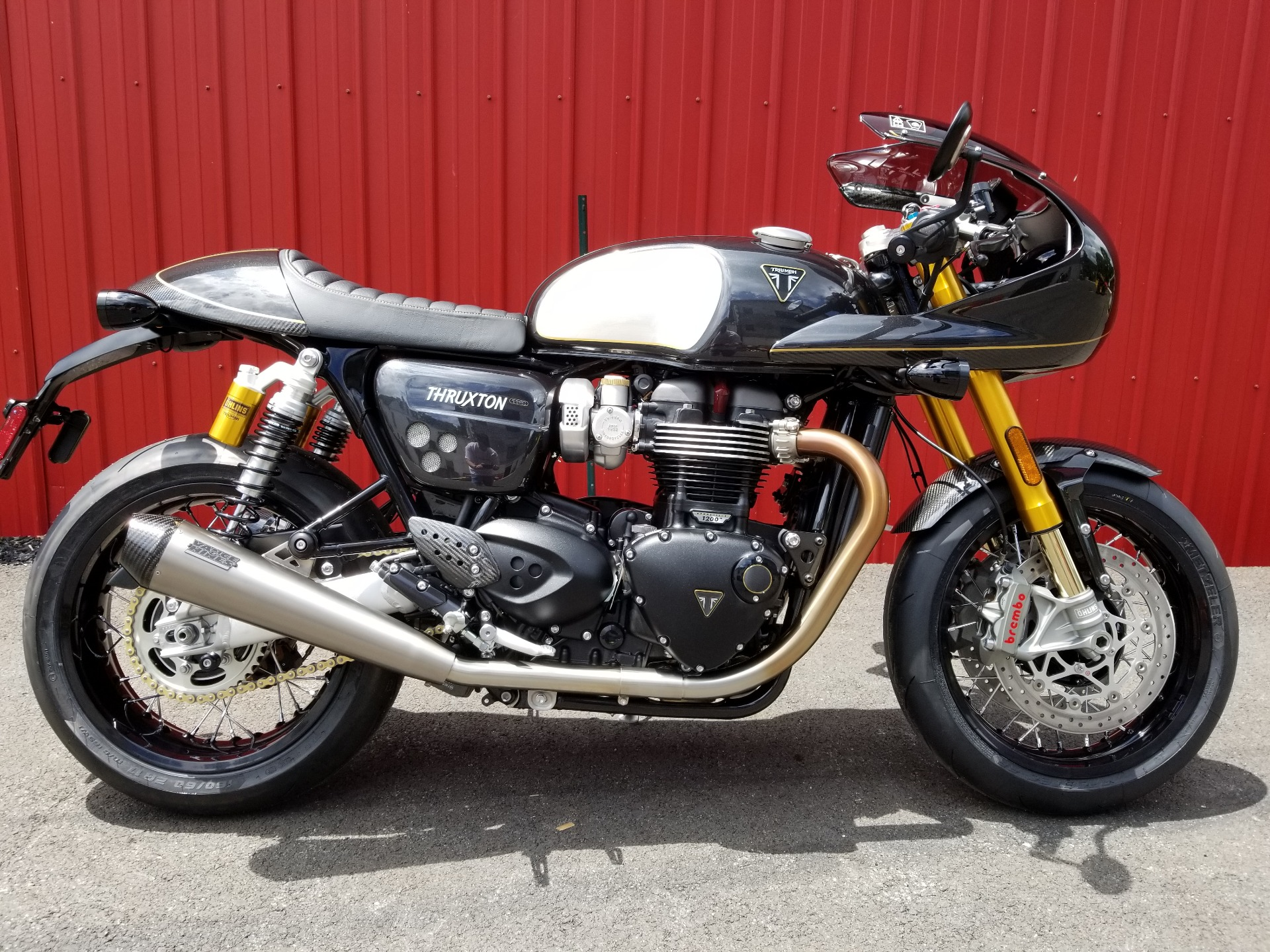 2020 Triumph Thruxton 1200 TFC in Port Clinton, Pennsylvania - Photo 1