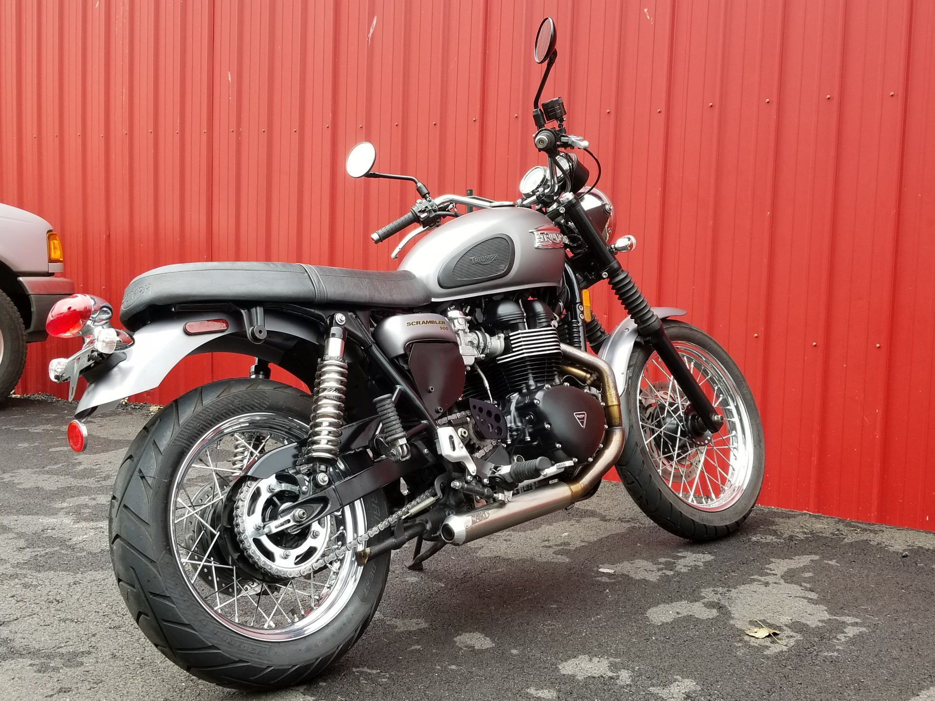 2013 Triumph Scrambler in Port Clinton, Pennsylvania
