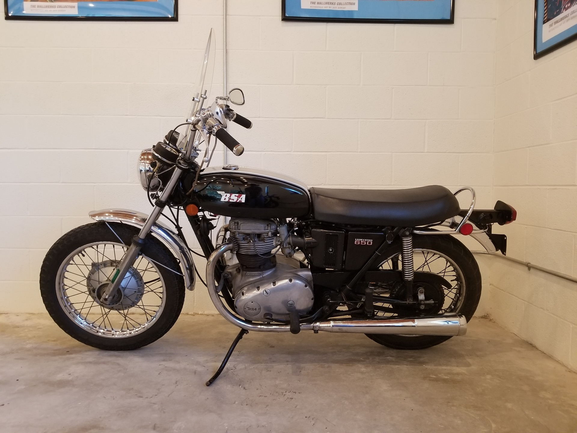 1971 BSA Lightning 650 in Port Clinton, Pennsylvania - Photo 2