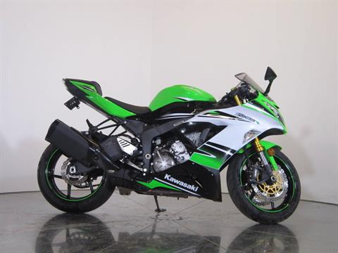 2015 Kawasaki Ninja® ZX™-6R ABS 30th Anniversary in Greenwood Village, Colorado