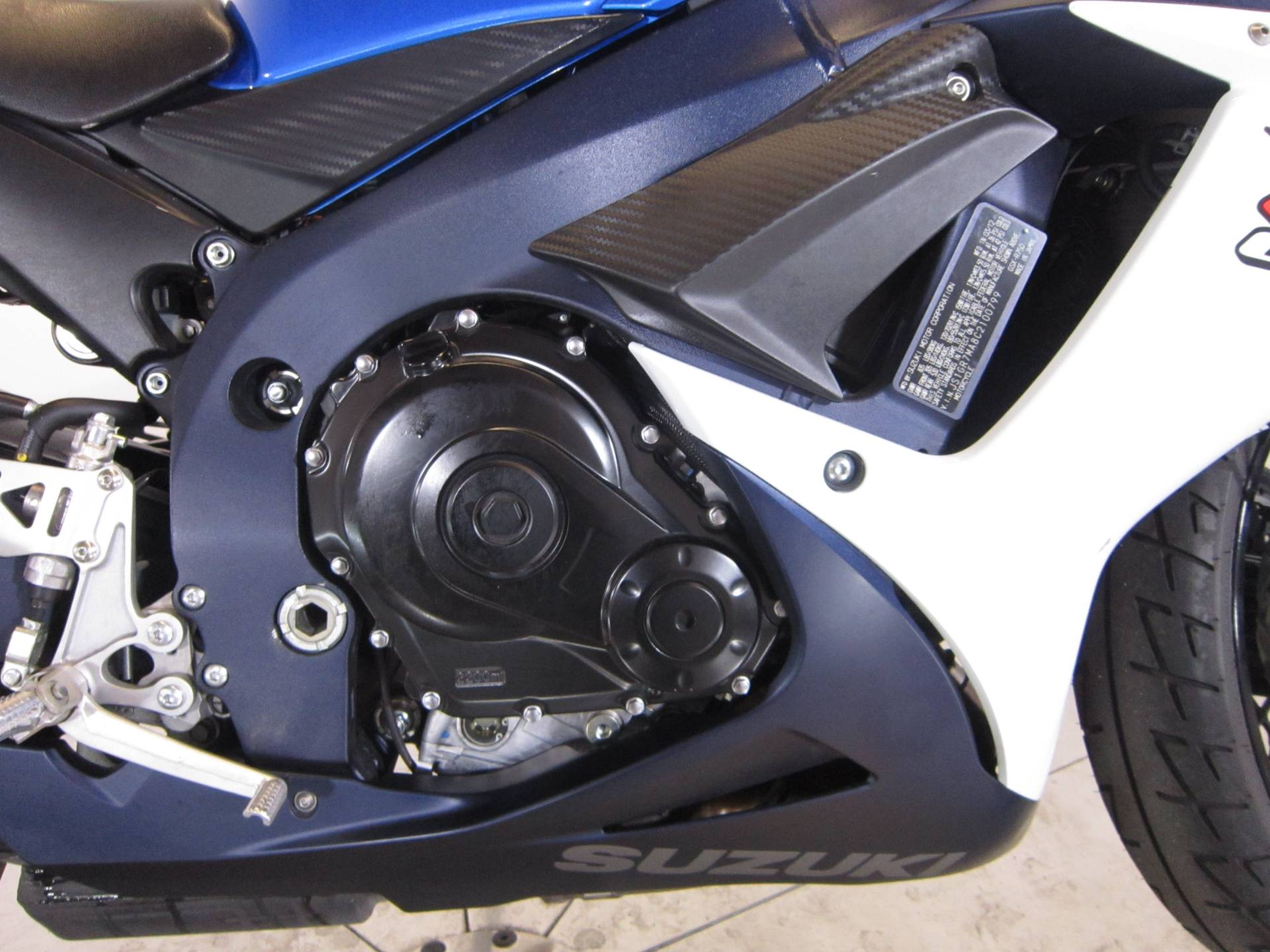 2012 Suzuki GSX-R750™ in Greenwood Village, Colorado
