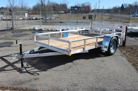 2019 Pure Trailers Utility Trailer in Saint Helen, Michigan