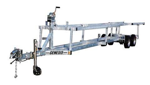 2019 Genesis Trailers Pontoon Crank-up Trailer in Saint Helen, Michigan