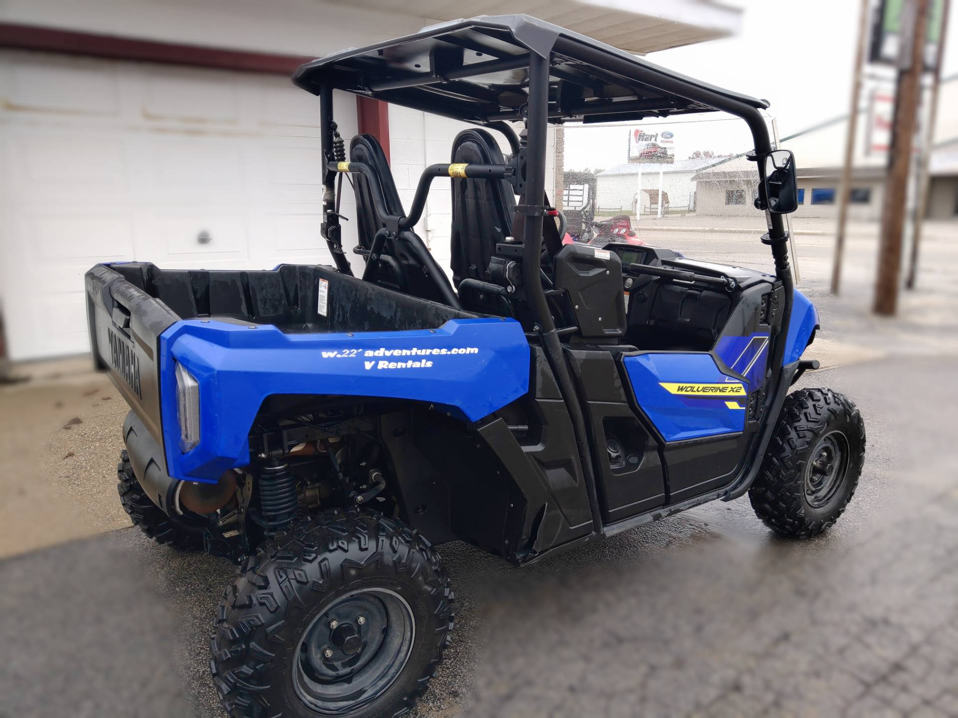 2020 Yamaha Wolverine X2 in Saint Helen, Michigan - Photo 4