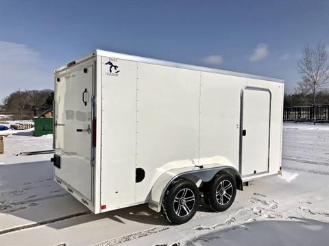 Pure Trailers Aluminum Enclosed Trailers in Saint Helen, Michigan