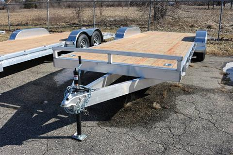 Pure Trailers Aluminum Car Hauler in Saint Helen, Michigan
