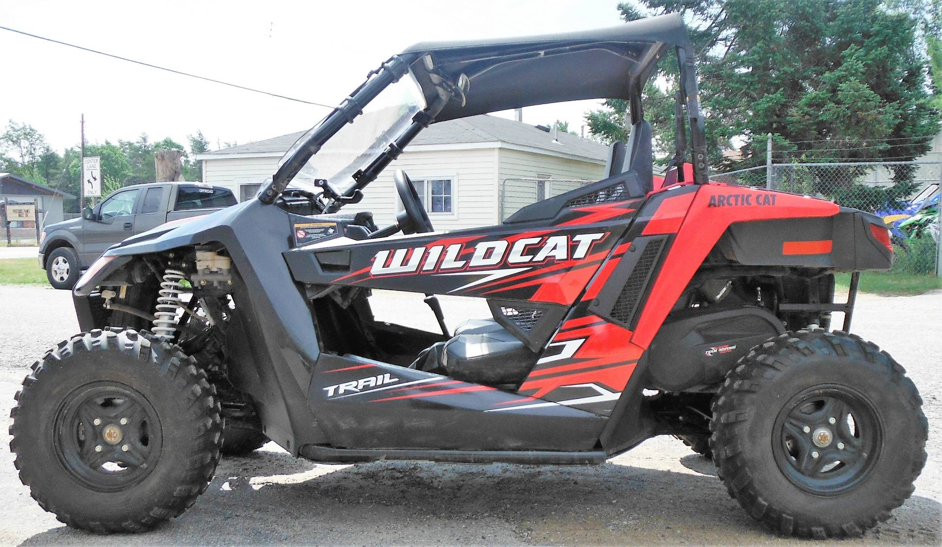 2017 Arctic Cat Wildcat Trail in Saint Helen, Michigan - Photo 1