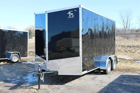 Pure Trailers Steel Enclosed Cargo Trailers in Saint Helen, Michigan
