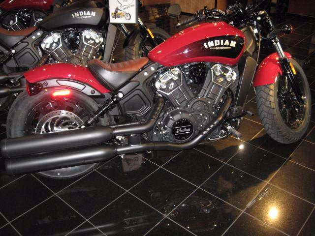 2018 Indian SCOUT BOBBER in Dublin, California