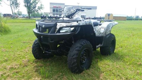 2008 Suzuki KingQuad® 450AXi 4x4 Camo in De Forest, Wisconsin