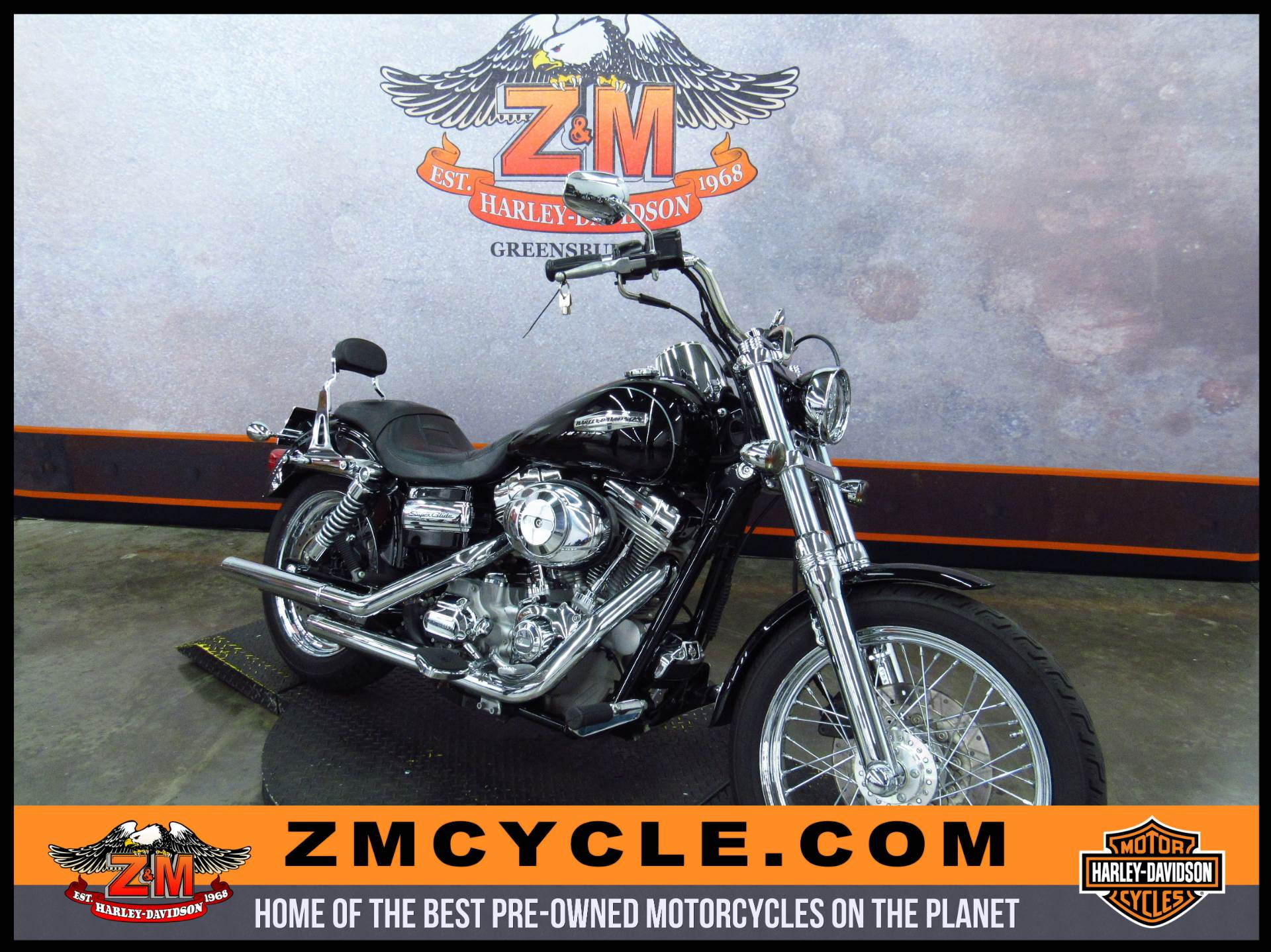 2007 Dyna Super Glide Custom