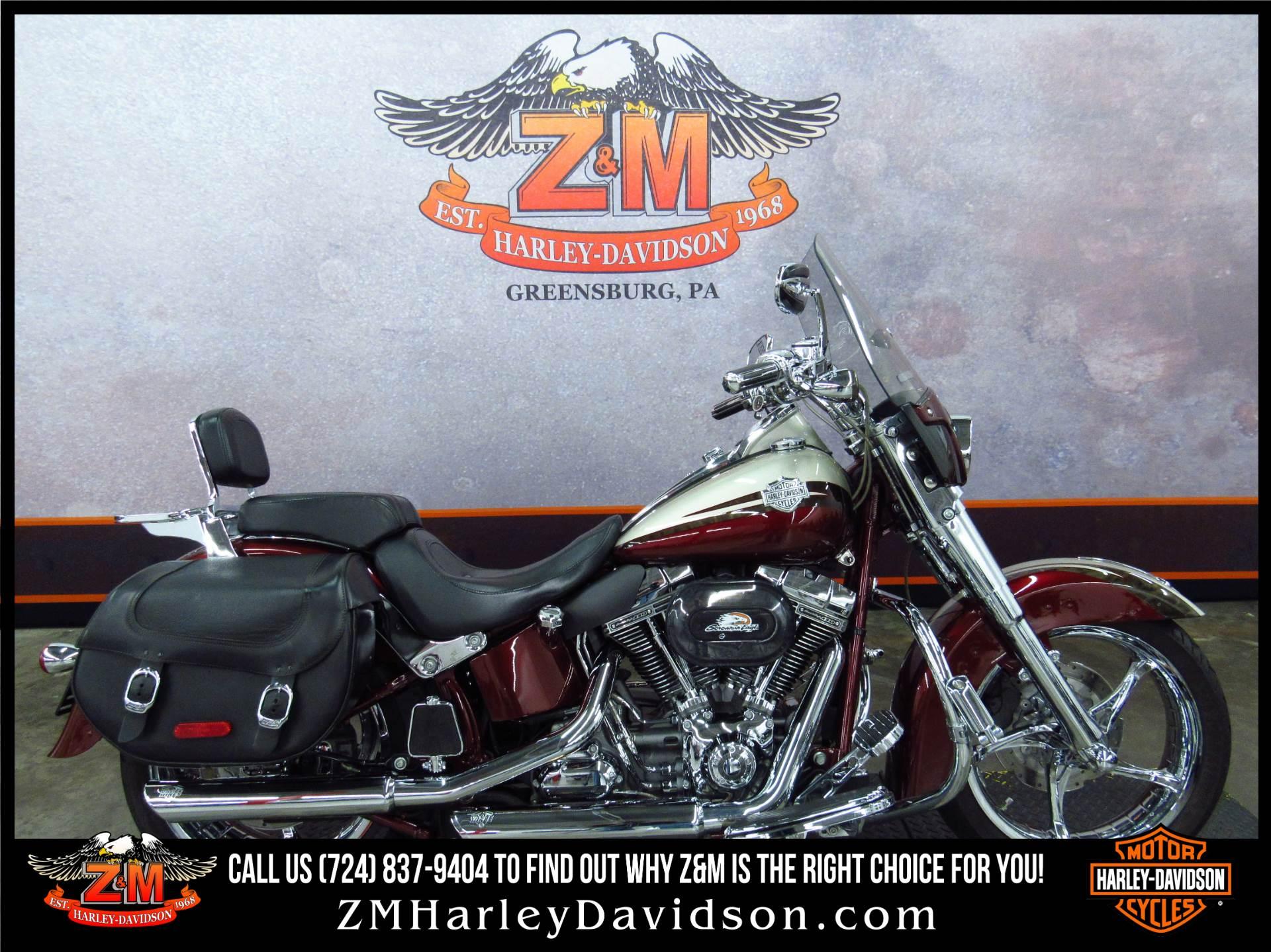 2010 Harley Davidson Cvo Softail Convertible In Greensburg Pennsylvania