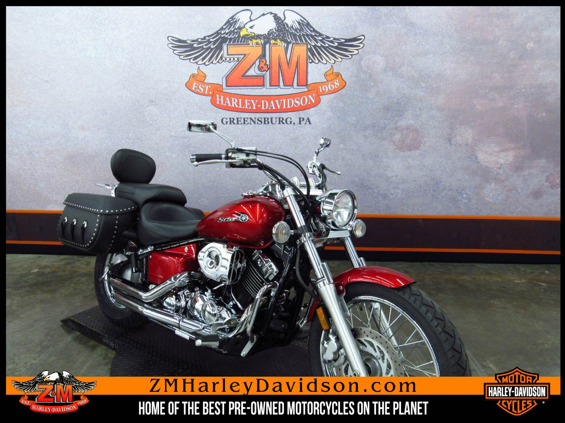2008 Yamaha V Star® Custom in Greensburg, Pennsylvania - Photo 2