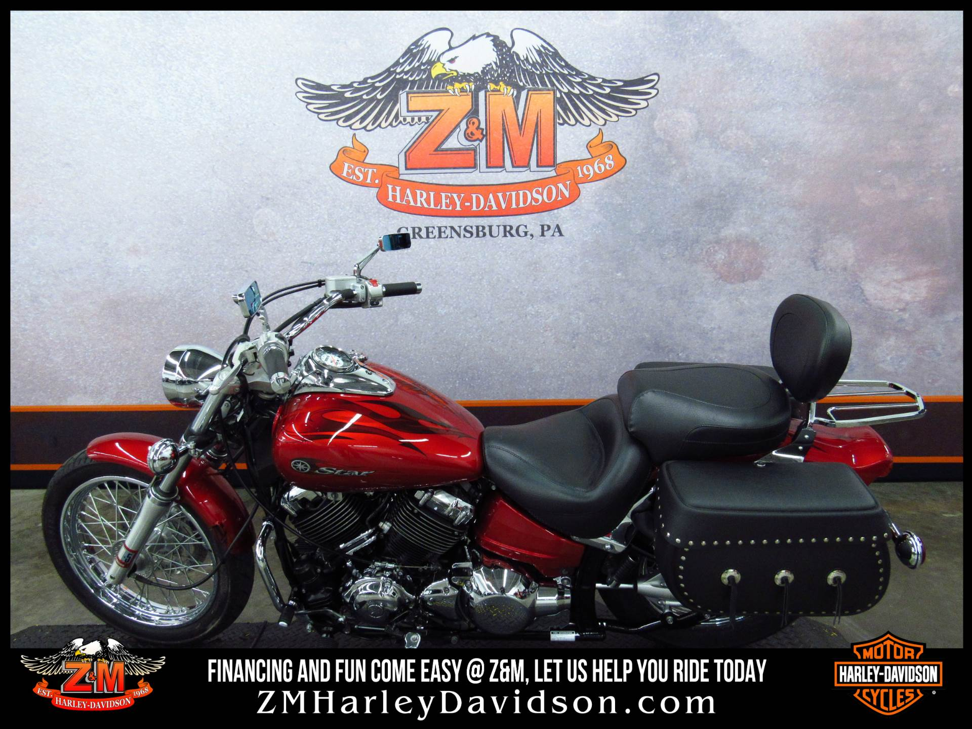 2008 Yamaha V Star® Custom in Greensburg, Pennsylvania - Photo 4
