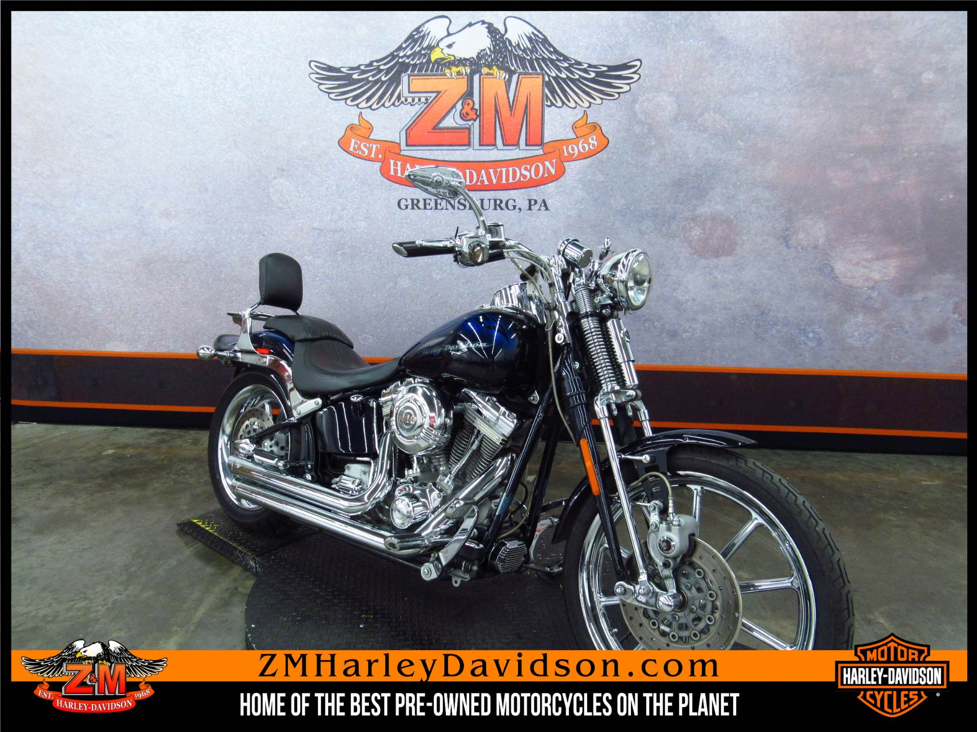 2007 CVO Screamin' Eagle Softail Springer